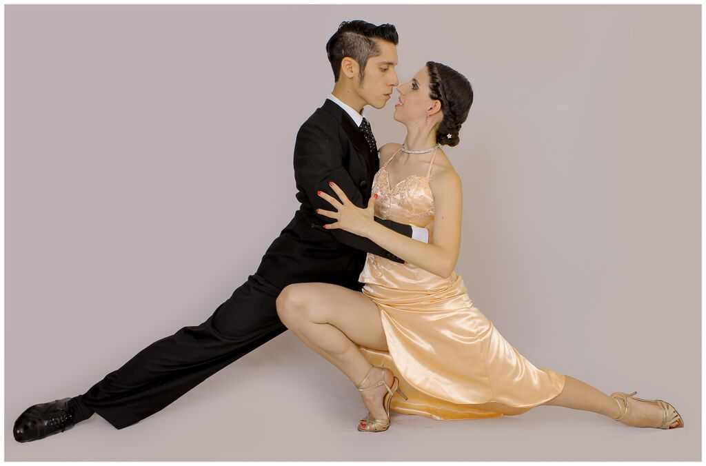 Luciano and Celeste at Tango Malvern